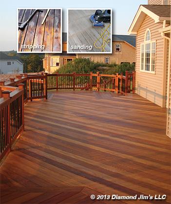 Deck Stripping Sanding Restoration