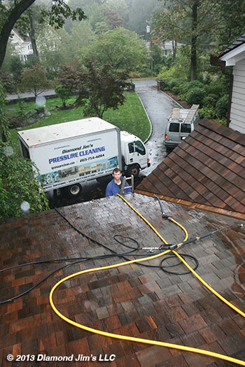 Roof Cleaning Connecticut Power Washing