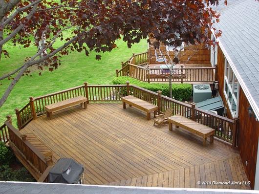 30+ year old cedar deck