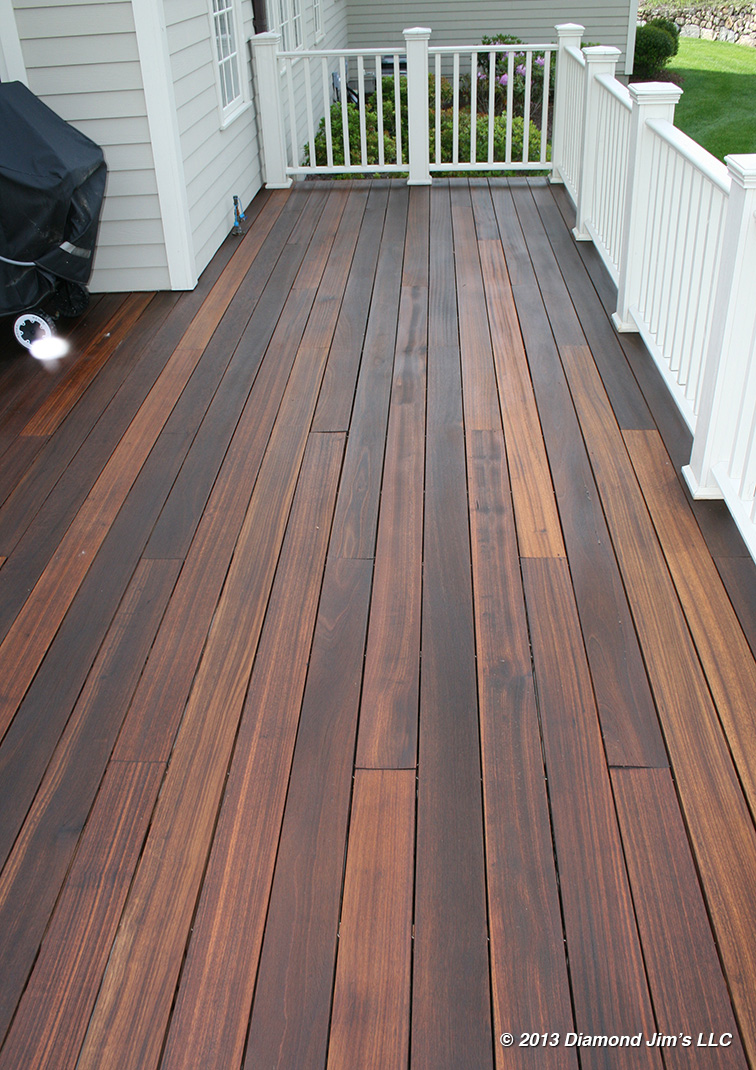 Mahogany Wood Stain Colors ~ Deck envy portfolio connecticut power washing