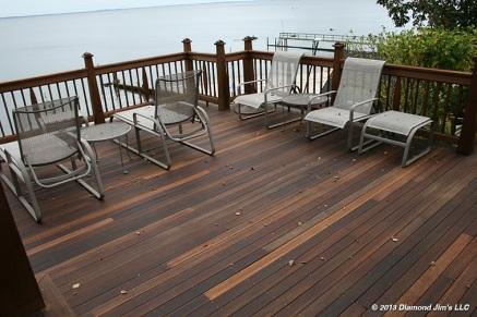 Mahogany Deck Oiled