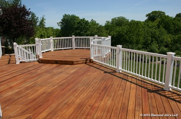 Pressure Treated Deck Oiled