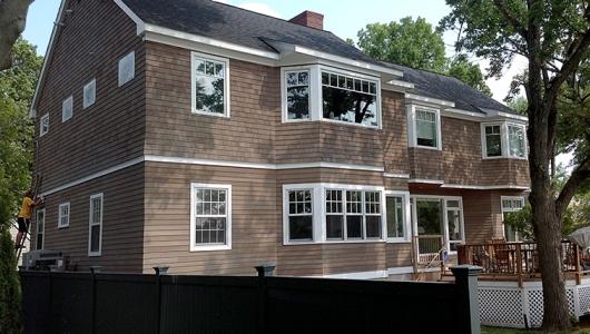 Cedar home restored.